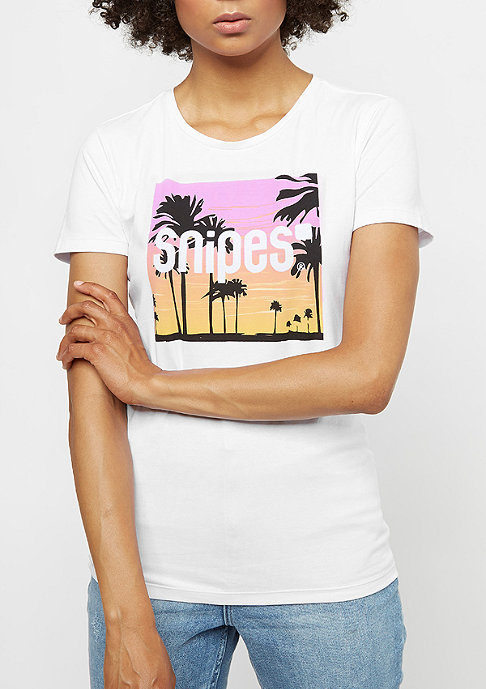 SNIPES Palm Classic T-Shirt white