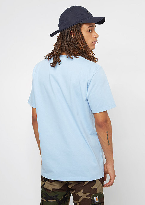 Carhartt WIP College T-Shirt soft blue