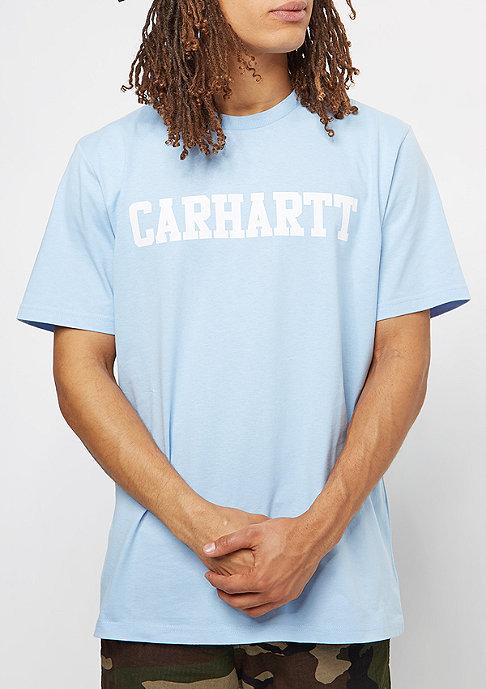 Carhartt WIP College T-Shirt soft blue