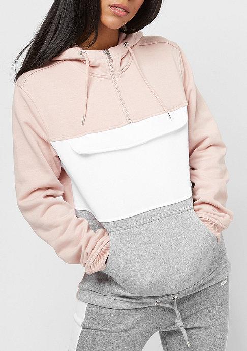 Urban Classics Color Block lightrose/grey/white