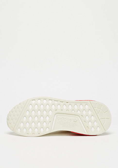 adidas NMD_R1 off white/off white/lush red