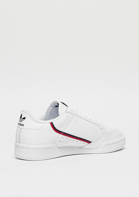 adidas Continental 80s ftwr white/scarlet/collegiate navy