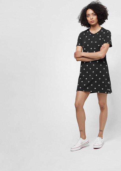 Converse AOP Star Chevron Dress black/multi
