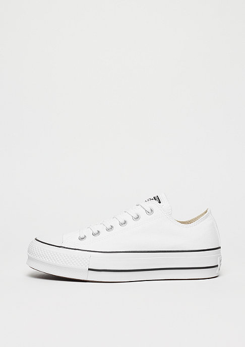 a63f97a885d41c closeout converse chuck taylor all star lift ox white black white 03b1c  f051a