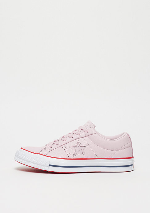 Converse One Star OX barley rose/gym red/white