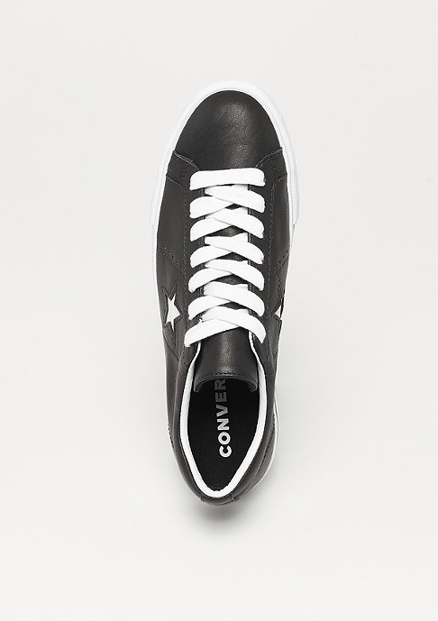 Converse One Star Platform OX black/white/white