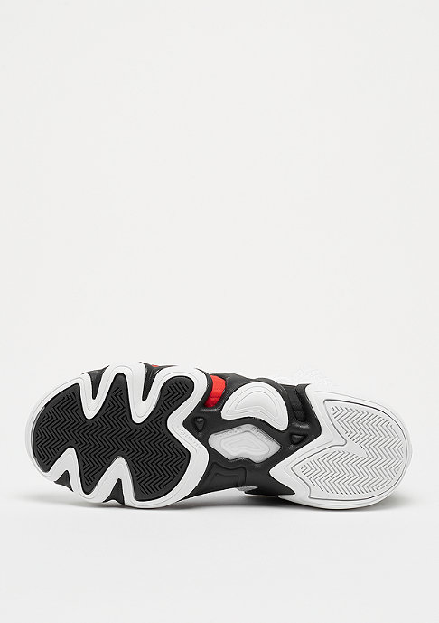 adidas Performance Crazy 8 ADV footwear white/core black/hi-res red