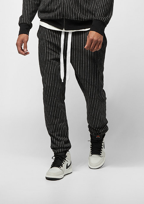Criminal Damage Jogger Pinstripe black/white