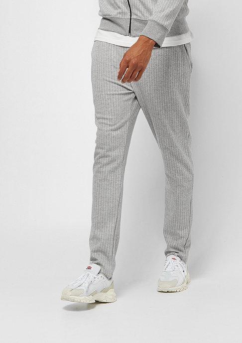 Criminal Damage Jogger Pinstripe grey/white