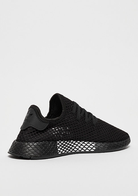 adidas DEERUPT RUNNER black/black/white