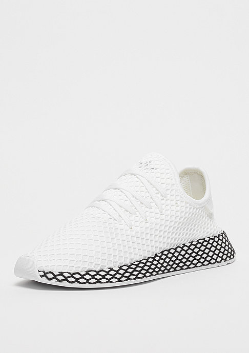 adidas DEERUPT RUNNER white/white/black