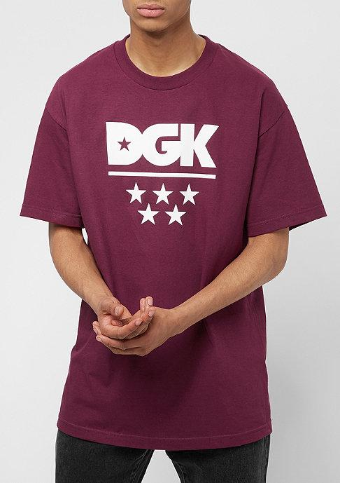 DGK All Star burgundy