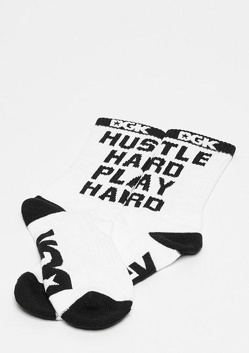 DGK Hustle Crew Socks white