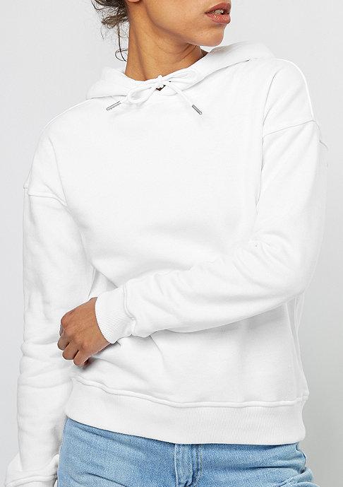 Urban Classics Hooded-Sweatshirt Ladies white