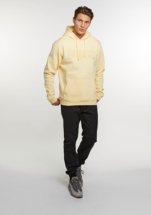 SNIPES Hooded-Sweatshirt Basic Logo yolk yellow