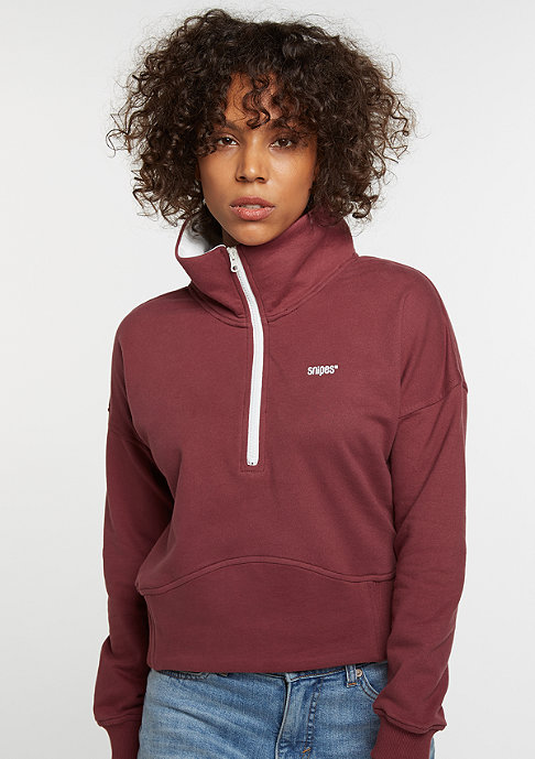 SNIPES Sweatshirt Track Top bordeaux