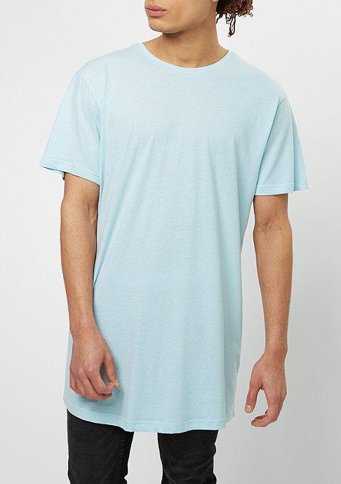 Urban Classics T-shirt Shaped Long baby blue
