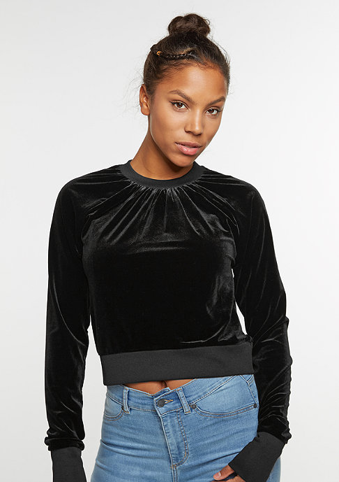 Cheap Monday Sweatshirt Vinyl black