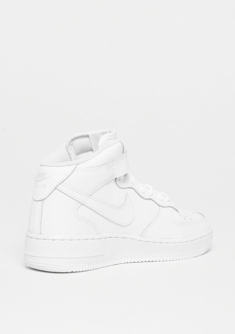 NIKE Air Force 1 MID (GS) wht/wht