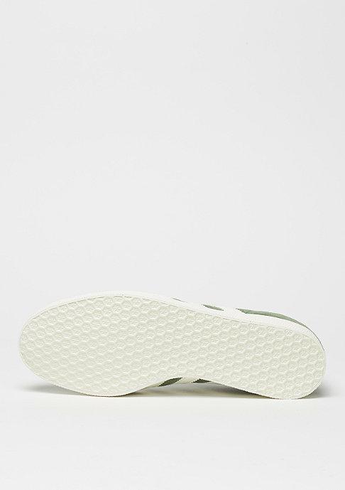 adidas Gazelle trace green/off white/white