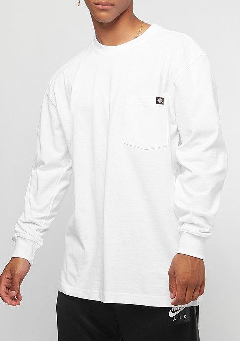Dickies Pocket Tee L/S white