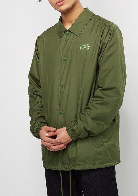 NIKE SB Übergangsjacke SHLD Coaches legion green/palm green