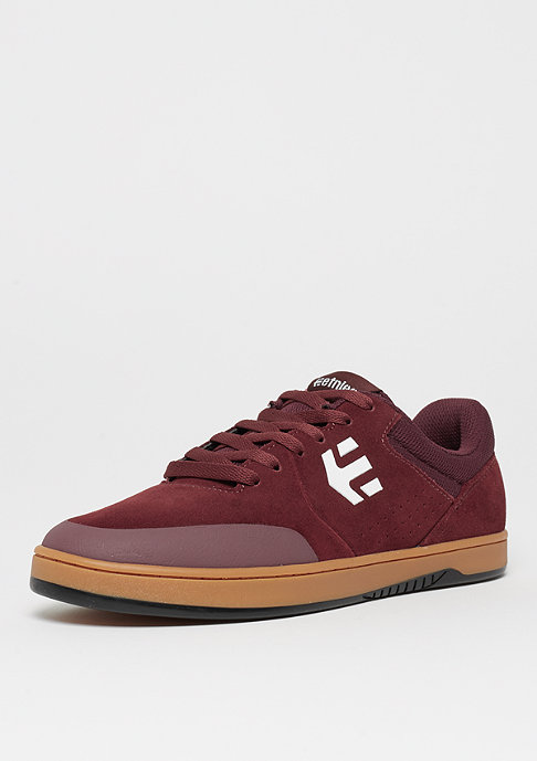Etnies Marana burgundy/tan/white