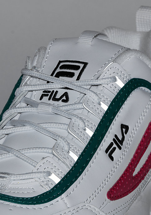 Fila FILA x Snipes Disruptor Low white/fila green/fila red