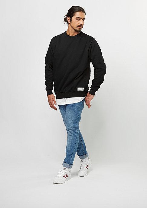 FairPlay Sweatshirt Basic Crew 08 black