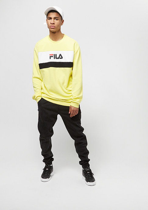 Fila Urban Line Crew Steven Canary yellow
