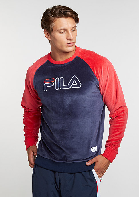 Fila Sweatshirt Serzo blue/red