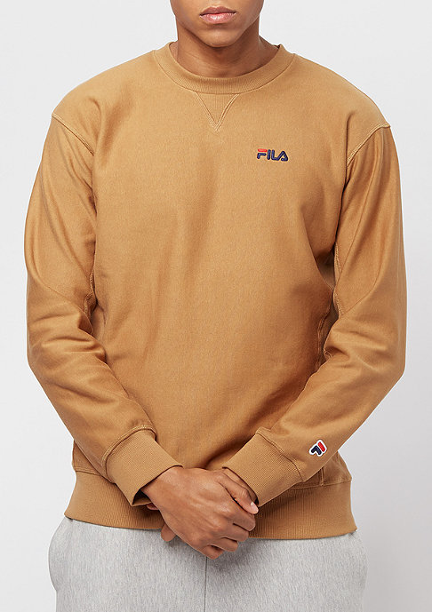 fila for snipes crew sweatshirt camel bei snipes bestellen. Black Bedroom Furniture Sets. Home Design Ideas