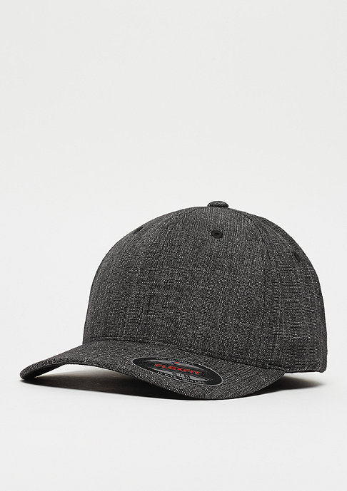 Flexfit Baseball-Cap Fine Melange black