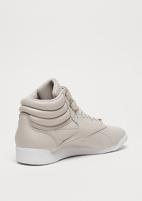 Reebok Freestyle HI Muted sandstone/white