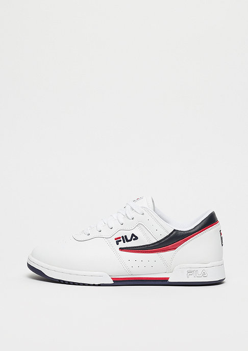 Fila Heritage Original Fitness Wmn White/FILA Navy/ FILA Red