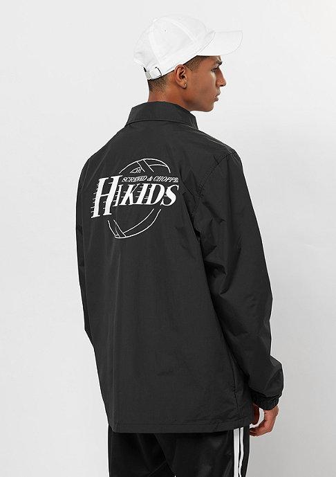 Hikids Team Coach Jacket black