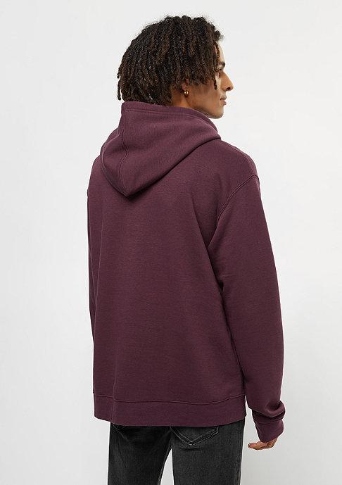 Cheap Monday Pullover Hood darkest red