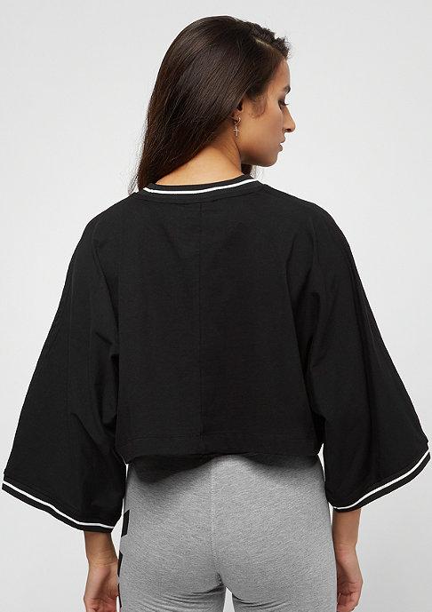 IVY PARK Cropped Oversized Logo black