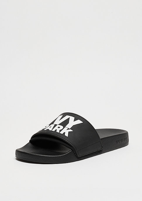 IVY PARK Stacked Logo Neoprene Sock Slider black