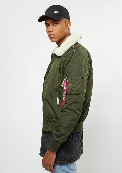 Alpha Industries Injector III dark green