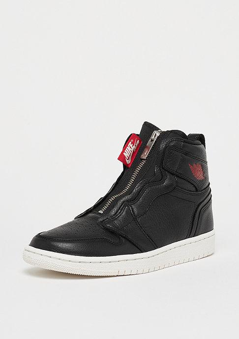 JORDAN Air Jordan 1 High Zip black/gym red-phantom