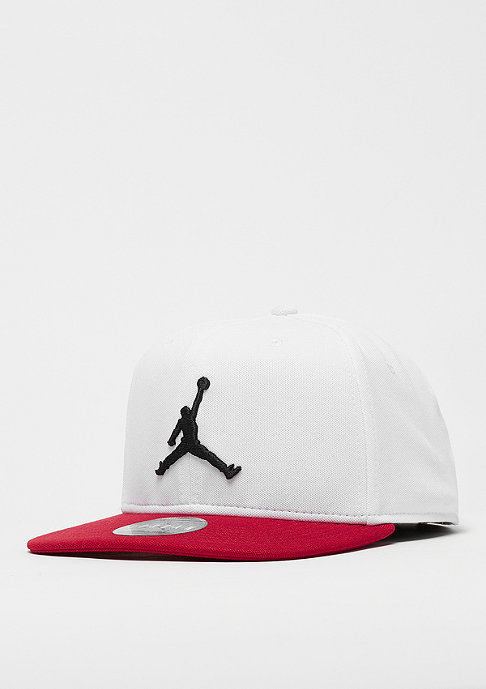 JORDAN Jumpman Snap white/gym red/black