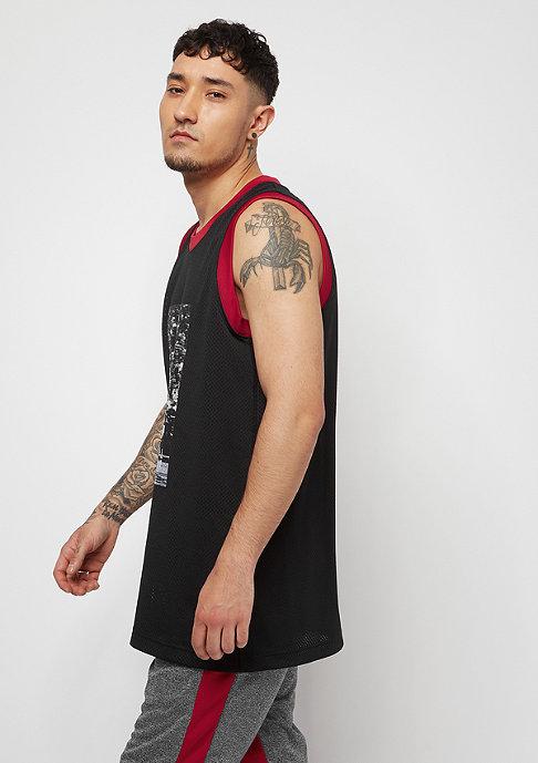 JORDAN The Last Shot Mesh Jersey black/gym red/gym red
