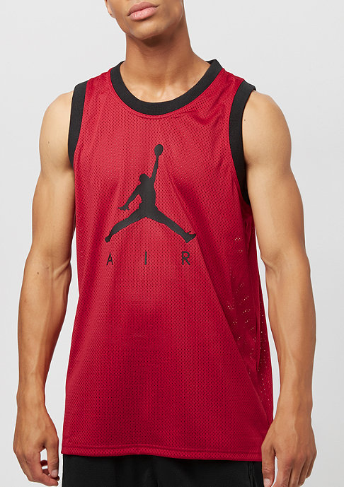 JORDAN Jumpman Mesh Rev Jersey gym red/black/black