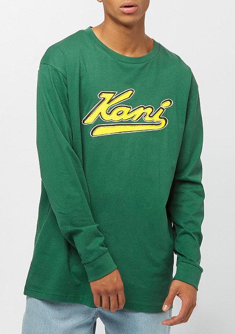 Karl Kani College Longsleeve green