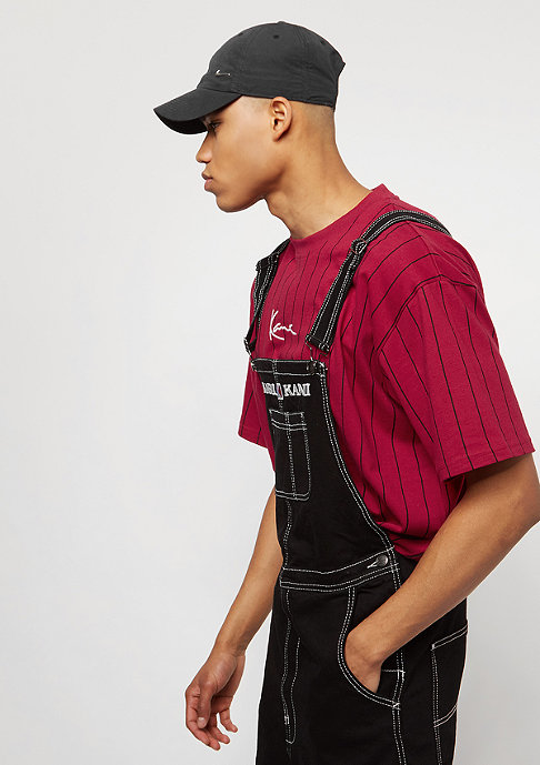 Karl Kani Pin Stripe red/black