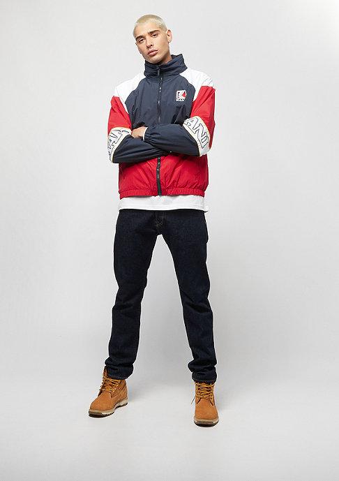 Karl Kani Retro Windbreaker navy/red/white