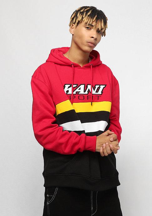 Karl Kani Sport Block Hoodie red yellow black white