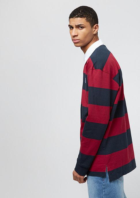 Karl Kani Stripe Rugby red/black
