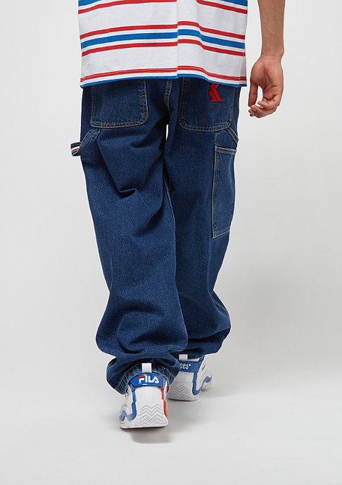 Karl Kani Karl Kani x Snipes Denim Baggy Pants blue